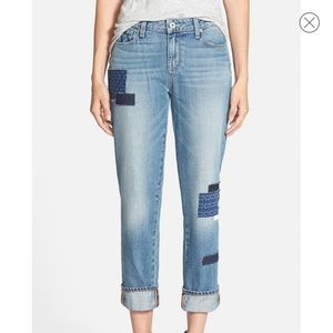 PAIGE Porter Bethany Patch Jeans